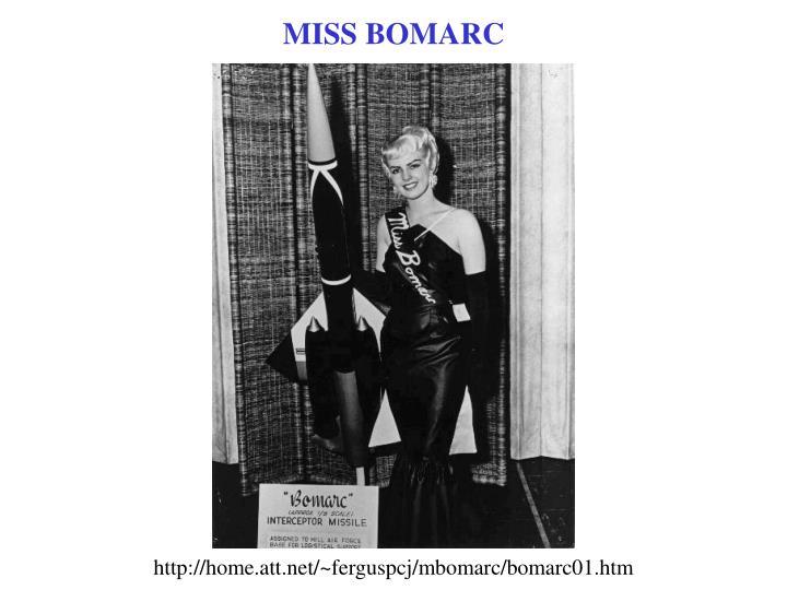 MISS BOMARC