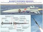 ramjet powered missiles1