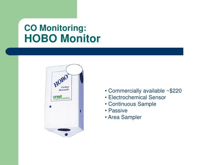 CO Monitoring: