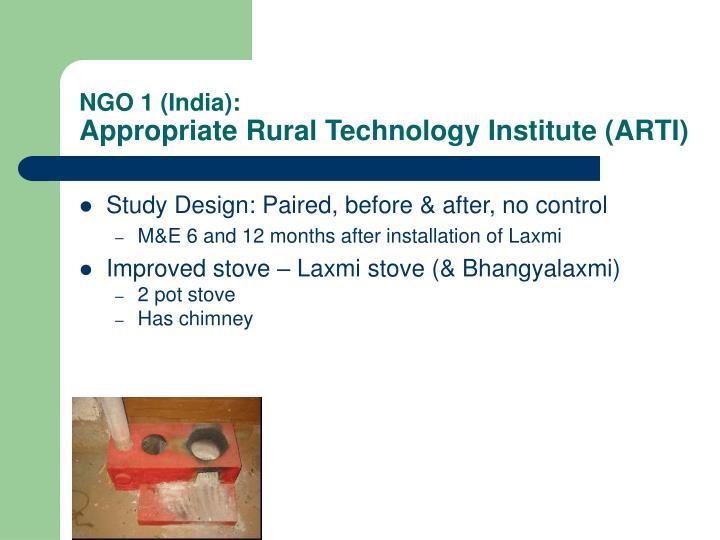 NGO 1 (India):