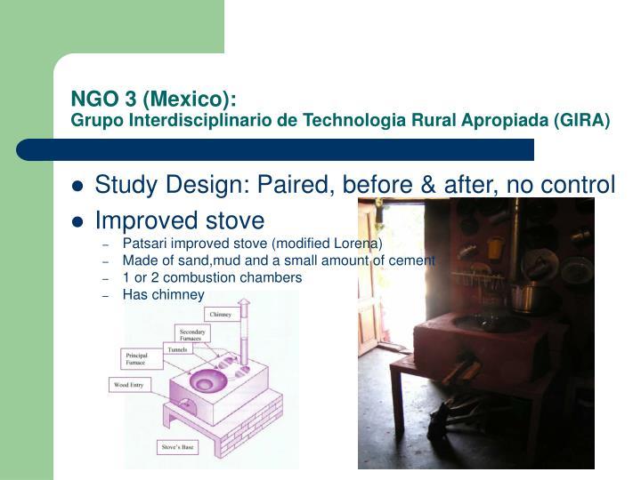 NGO 3 (Mexico):