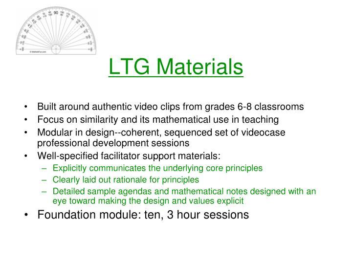 LTG Materials