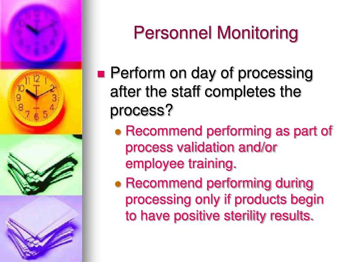 Personnel Monitoring