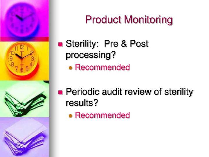 Product Monitoring