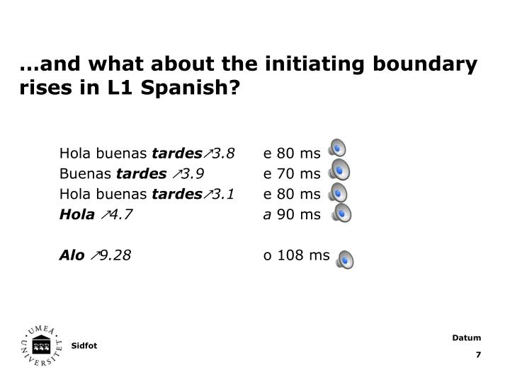 …and what about the initiating boundary rises in L1 Spanish?