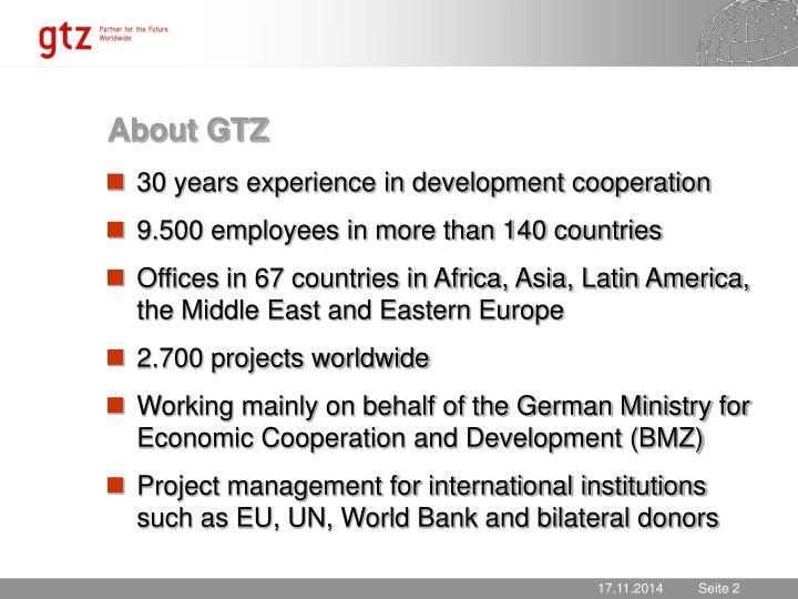 About GTZ