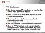 ppp challenges