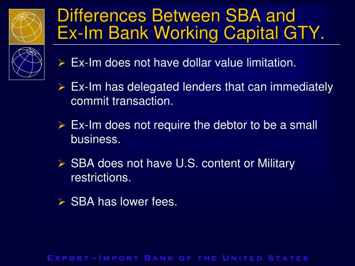 Differences Between SBA and