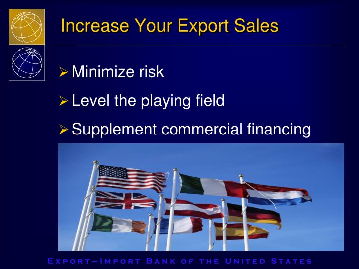 Increase Your Export Sales