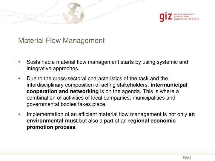 Material Flow Management