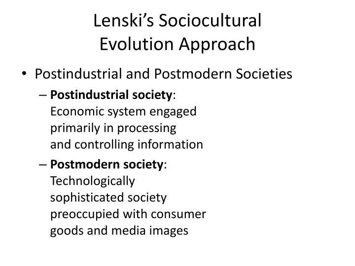 Lenski's Sociocultural