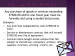 bid law requirements