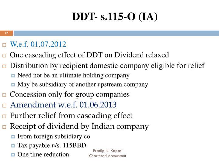DDT- s.115-O (IA)