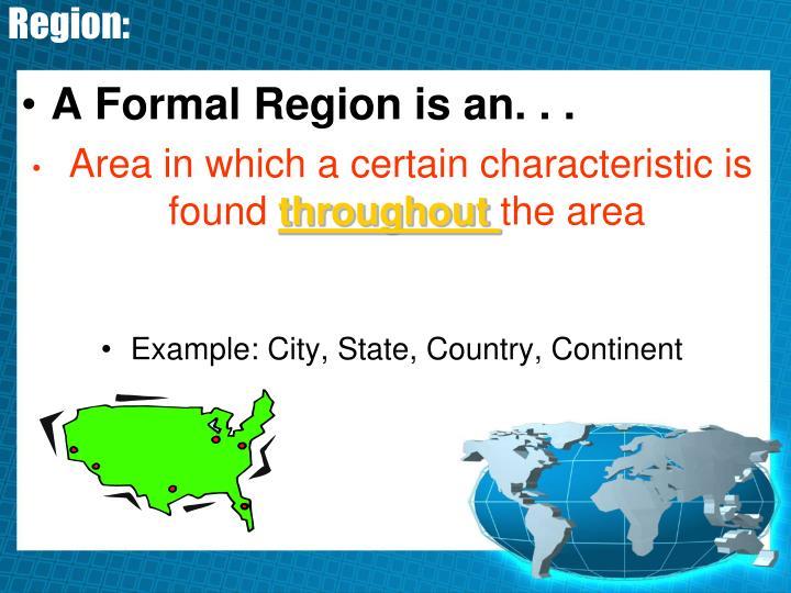Region: