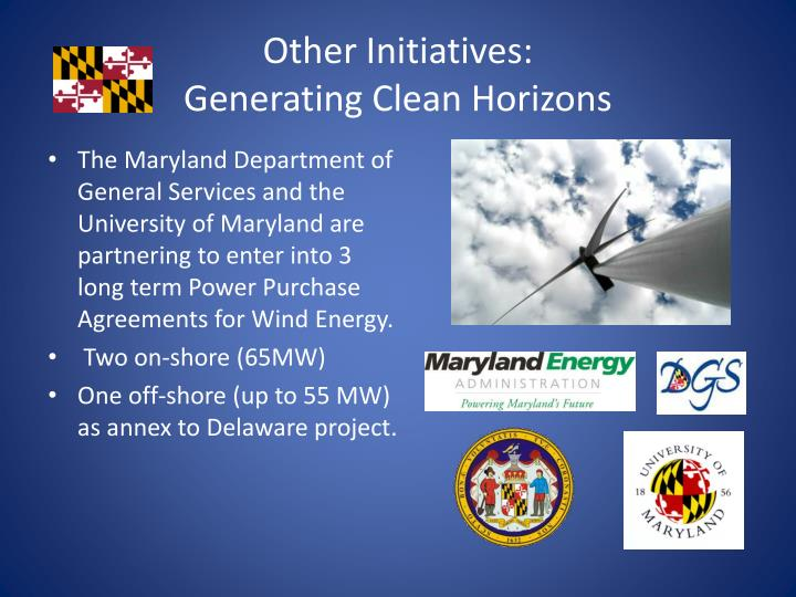 Other Initiatives: