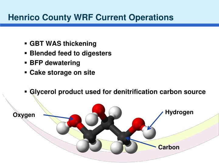 Henrico County WRF Current Operations
