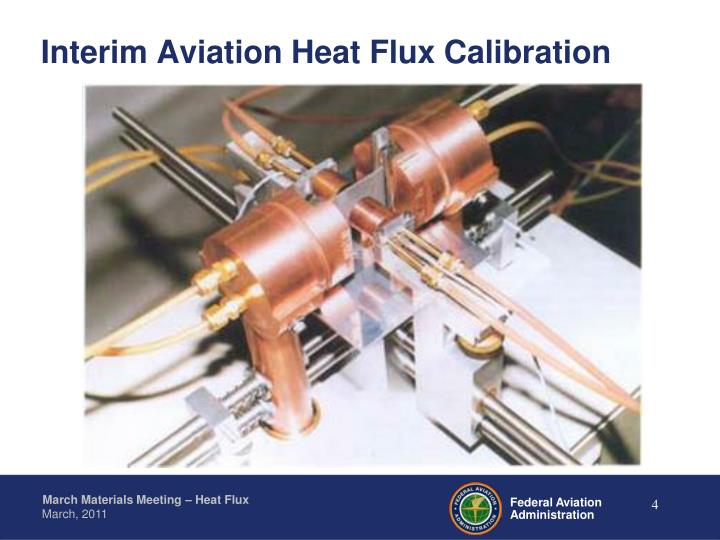 Interim Aviation Heat Flux Calibration