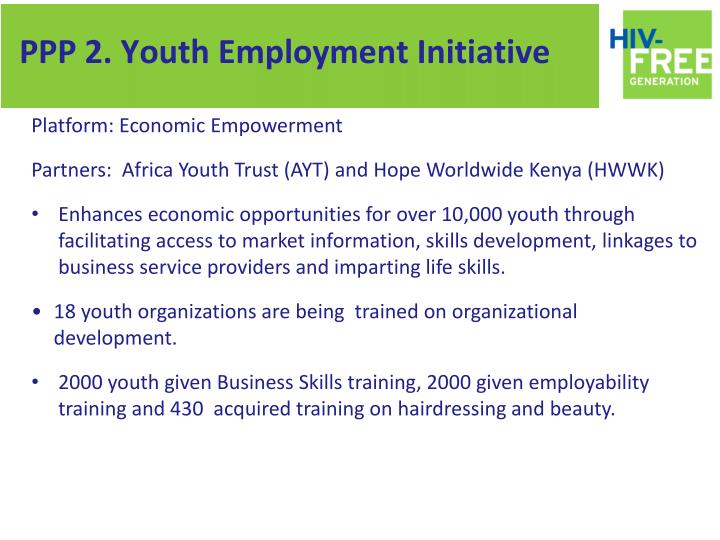 PPP 2. Youth Employment Initiative