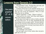 lessons from genesis 2 32