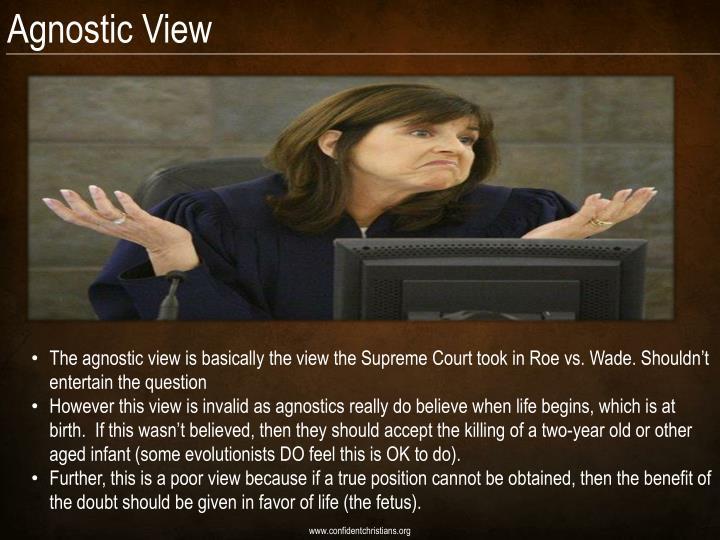 Agnostic View