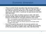economic dimension1