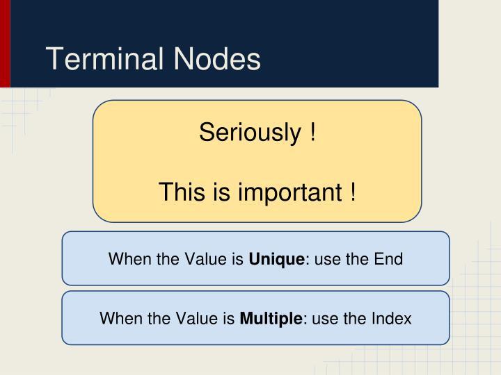 Terminal Nodes