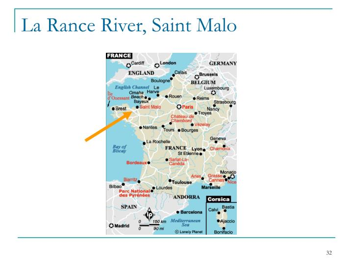 La Rance River, Saint Malo