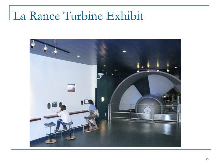 La Rance Turbine Exhibit