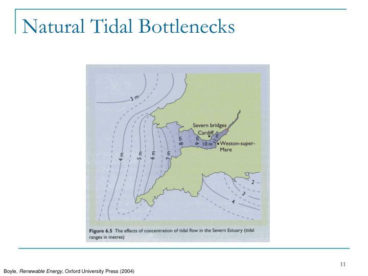Natural Tidal Bottlenecks
