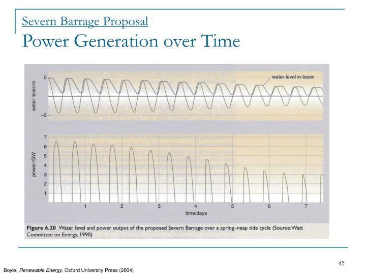Severn Barrage Proposal