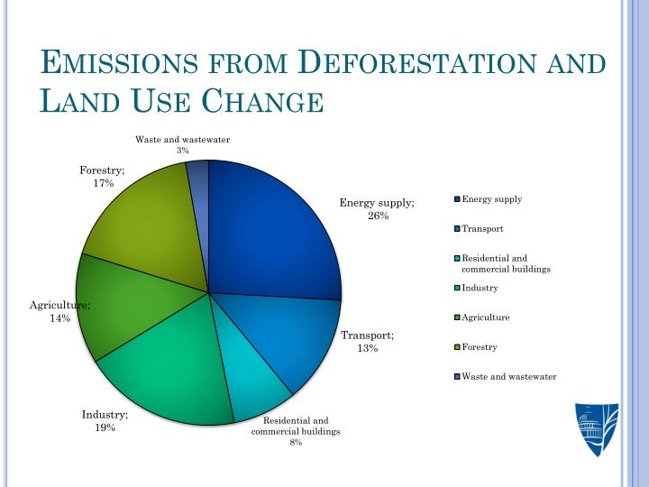 Emissions from Deforestation and Land Use Change