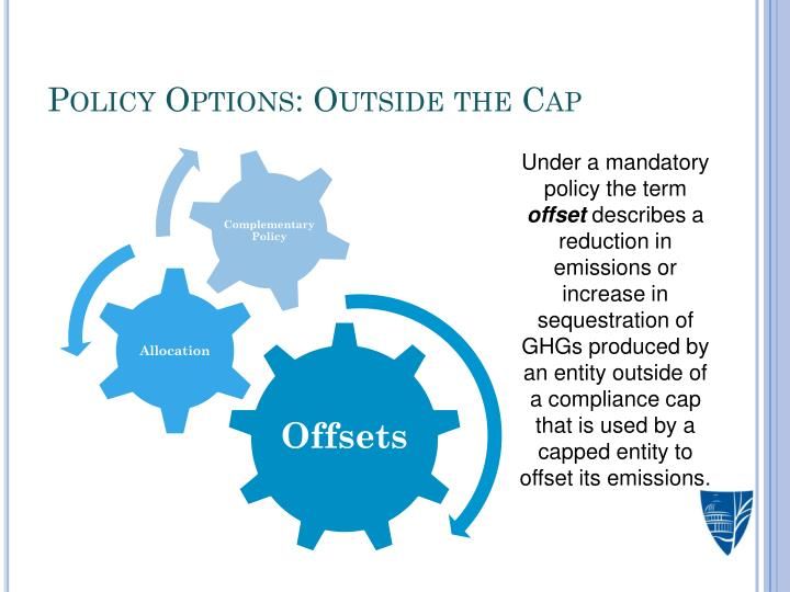 Policy Options: Outside the Cap