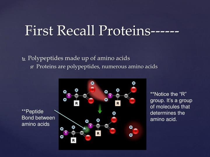 Polypeptides made up of amino acids