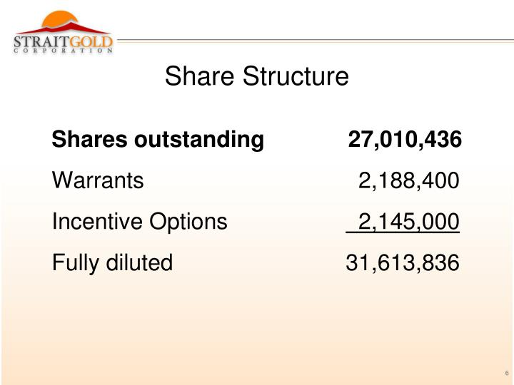 Share Structure