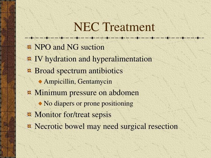 NEC Treatment