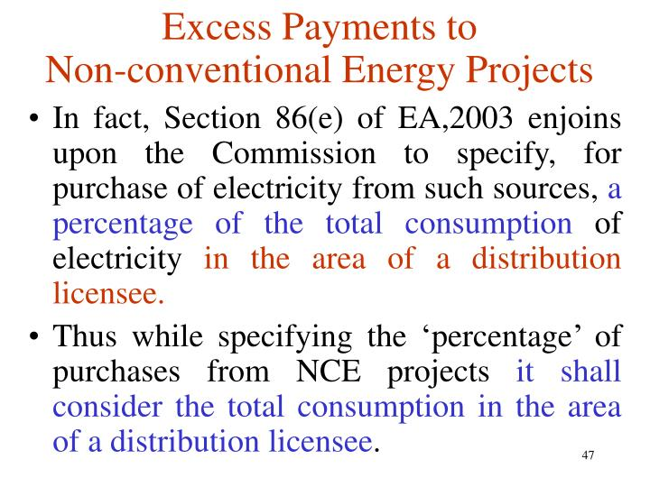 Excess Payments to