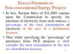 excess payments to non conventional energy projects3