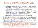 review of ppas of gas projects3