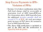 stop excess payments to ipps violation of ppas10
