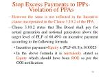 stop excess payments to ipps violation of ppas11