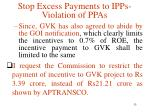 stop excess payments to ipps violation of ppas14