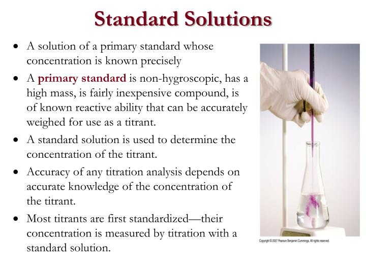 Standard Solutions