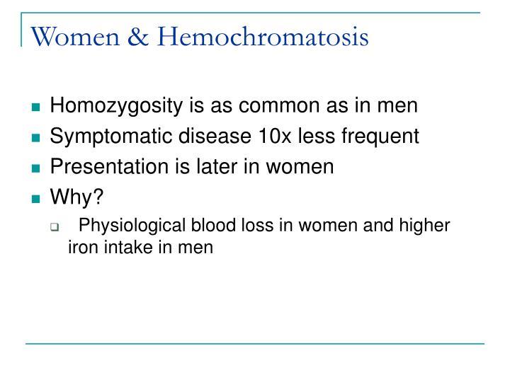 Women & Hemochromatosis