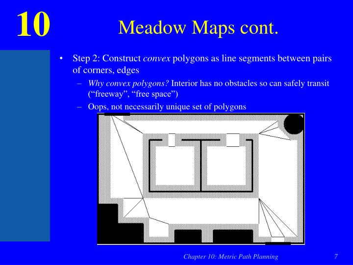 Meadow Maps cont.