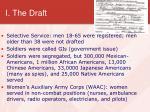 i the draft