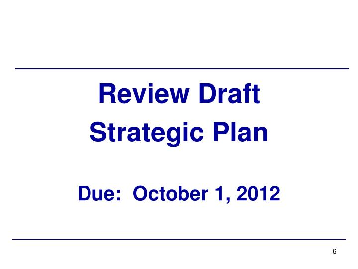 Review Draft