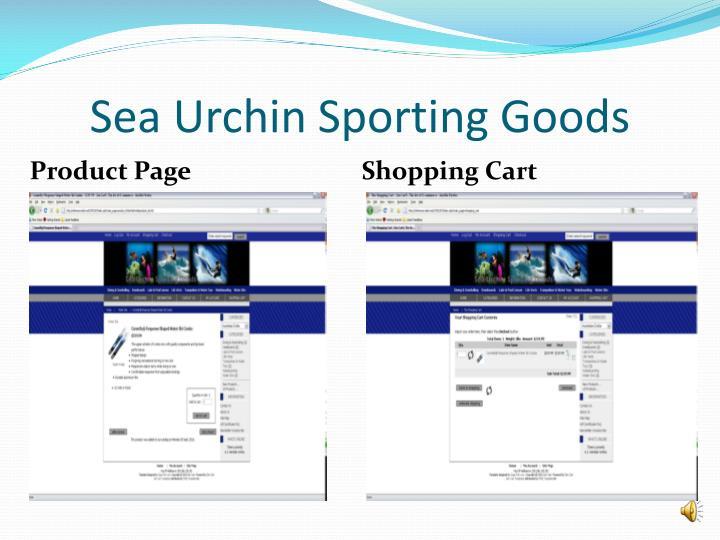 Sea Urchin Sporting Goods