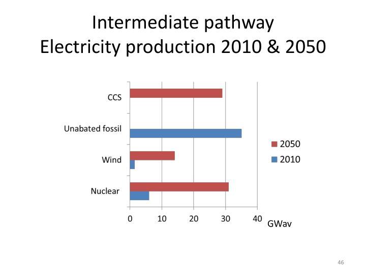 Intermediate pathway
