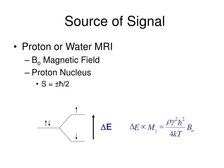 Source of signal