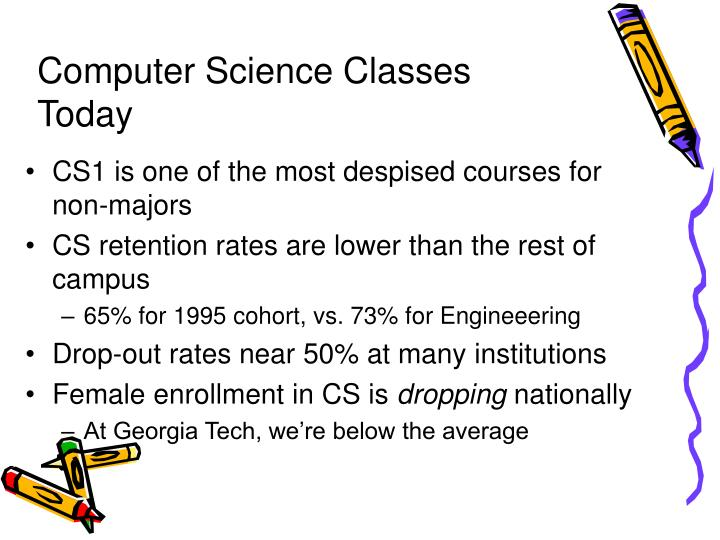 Computer Science Classes Today
